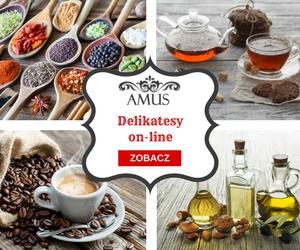 Delikatesy internetowe Amus oferują produkty spożywcze premium