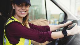 Female-Van-Driver