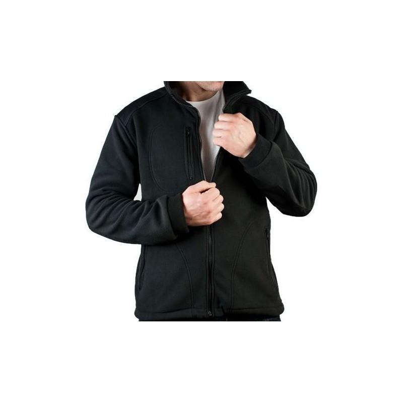 Polary w kolorze czarnym, jako doskonała baza do odzieży firmowej